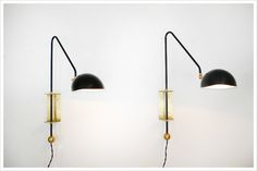 Buy Collected By for Lawson-Fenning Medium Swing Sconce by Lawson-Fenning - Made-to-Order designer Lighting from Dering Hall's…
