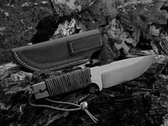 Outdoor Messer -  Bushcraft Knive - Karbonstahl