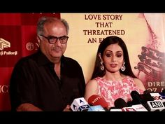 Sridevi With Boney Kapoor At Grand Premiere Of Mughal-e-Azam Musical Play.