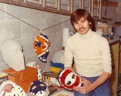 Greg Harrison - Vintage goalie mask production #vintage #goalie #mask…