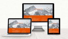 Landing Page AR Consulting Web Design, Landing, Polaroid Film, Salzburg Austria, Advertising Agency, Design Web, Website Designs, Site Design