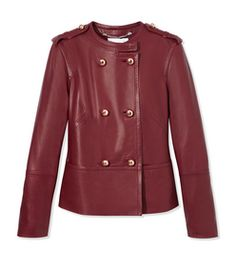 ESCADA SPORT: Las Palmas Leather Jacket