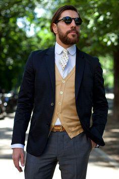 The Sartorialist. Como ir con traje y parecer que vas de sport