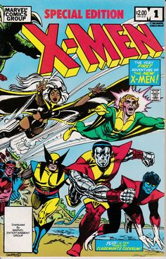 XMen Special Edition 1983 1 February 1983 Issue by ViewObscura