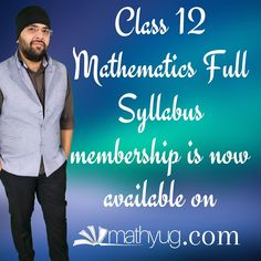 Yearly Membership of #Class12Maths students and teachers is available on the Website. Yearly Membership of other classes coming soon. #education #student #teachersfollowteachers #teachers #mathtutoring #selflearning #onlinelesson #learn #studynotes #studymotivation #mathematics #ashishkumar #Mathyug #onlinelectures Class 12 Maths, 12th Maths, Math Tutor, Conditional Probability, Linear Programming, Online Lectures, Online Lessons, Home Learning