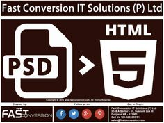 PSD to HTML 5 CSS 3 Conversion Services