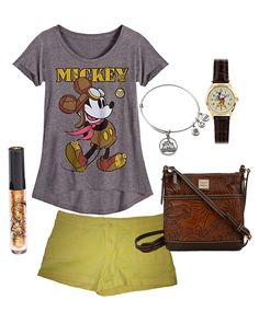 Disney Style Snapshots: Making a Mickey Fashion Statement Fun!!