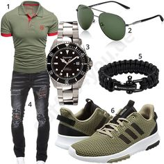 outfit grid men's fashion style outfit and outfit grids inspirations style grid for men fashion for men Casual Wear For Men, Stylish Mens Outfits, Casual Outfits, Mens Style Guide, Men Style Tips, Vetements Shoes, Polo Shirt Outfits, Mode Man, Style Masculin