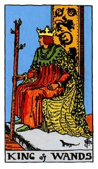14 de Bastos, Significado de las cartas del Tarot