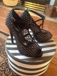 Vintage dance shoes from Le Chateau
