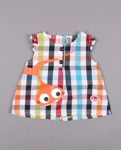 Blusa sin mangas a cuadros talla 12 meses (7,50€) http://www.quiquilo.es/bebe-nina/3975-blusa-sin-mangas-a-cuadros.html