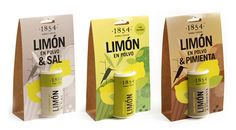Designed by Estudio Clara Ezcurra | Country: Argentina  These cheery lemon powder shakers would easily make themselves seen on a busy spice rack or disorganized kitchen cupboard. The simple display packaging is useful to supermarkets who can either hang or stack the product.