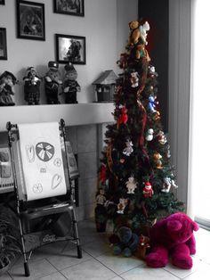 The Bear Tree Christmas Tree, Bear, Holiday Decor, Home Decor, Teal Christmas Tree, Decoration Home, Room Decor, Xmas Trees, Bears