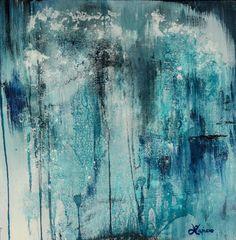 Saatchi Online Artist: Laura Viapiano; Oil, Painting Rain