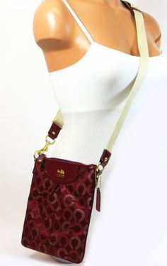 Coach Madison Dotted Op Art Swingpack Shoulder « Holiday Adds