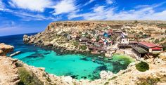 Beautiful villages around the world. famous popeye village in malta Amazing Places On Earth, Beautiful Places In The World, Beautiful Places To Visit, Places Around The World, Travel Around The World, Places To See, Around The Worlds, Amazing Destinations, Travel Destinations