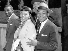 Dr Martin Luther King, jr and Coretta Scott King