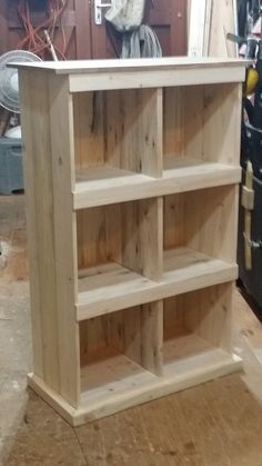 From That... to That... Pallet Bookcases & Bookshelves