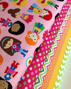 Super kids superhero quilt or craft fabric bundle by Ann Kelle for Robert Kaufman- 1/2 Yard Bundle, 6 total on Etsy, $30.00