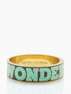 Kate Spade Wonder Thrills Idiom Bracelet