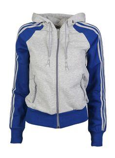 Adidas Womans Fleece Zip Hood