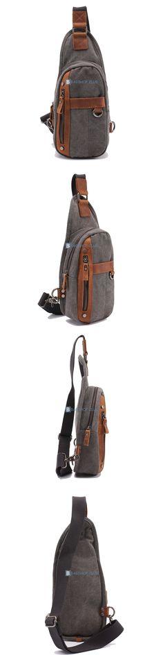$59.68 Mono Strap Backpack Men Sling Shoulder Bag