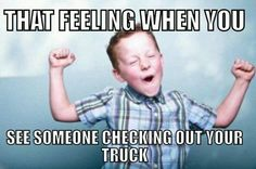 We all know we feel this! Get yourself a lifted truck that everyone will check out at www.wattsautomotive.com  #trucks #truck #lifted #watts #wattsautomotive