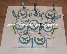 Verpackung mit Anleitung (Mini-Ritter Sport)