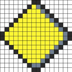 ice type symbol from pokemon perler bead pattern bead sprite