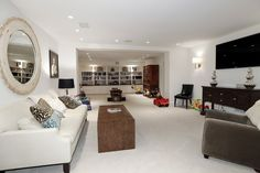 2446 Belmont Road NW Washington DC - Obamas New Home - Media Room