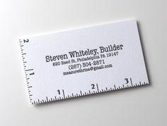 StevenWhiteley creative business card design