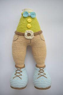 Leithygurumi: Tatyana Kostochenkova - Lovely Puppy - Turkish Translated - Free P. Free Crochet Bag, Crochet Baby Toys, Crochet For Boys, Knitting For Kids, Crochet Patterns Amigurumi, Amigurumi Doll, Baby Knitting Patterns, Crochet Dolls Free Patterns, Crochet Motifs