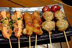 #food on a #stick great for on the go