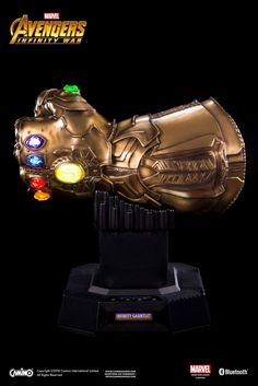 An Infinity Gauntlet Life-Size Bluetooth Hi-Fi System (by Camino) Is Coming | Geek Culture