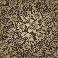 Papel de Parede Floral 1295