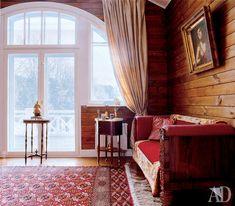 Дом в деревне Лапино: современная постройка с отсылками к началу ХХ в   Admagazine   AD Magazine