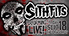 "Intergalactic Horror Business LIVE ON STAGE, Friday September 18, 2015! Courtney Cruz and Tim Mancinas present the debut of cosplay cover band ""The Sithfits"" by mancinasART! Followed by a brand NEW Cosplay Mashup Girls Burlesque Showcase from the DevilsplaygroundLA Dancers! Tickets on sale NOW at: devilsplaygroundl... #Sithfits #MillenniumFiendSkull #SithfitsBand #CourtneyCruz #Cosplay #JimmyPsycho #mancinas #StarGirls #PunkRock #theORIGINALsithfits #SithfitsFiendClub #mancinasART"