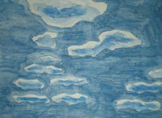 Landscape Sky With Clouds Beginner Lesson 2   This lesson teaches how to draw a sky with simple clouds.  Adapted steps for teaching art to children with special needs.  Expands skills using shading and how to use the concept of size(small, medium, large) for creating depth.  Great for tweens or teens!