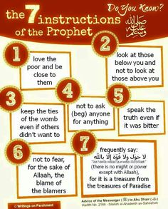 Follow the actions of the Prophet Muhammad SAW!!!