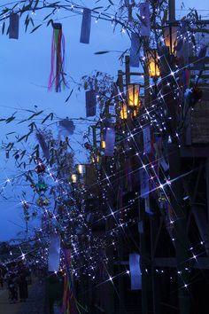 Tanabata festival,  Japan 七夕祭り on July 7