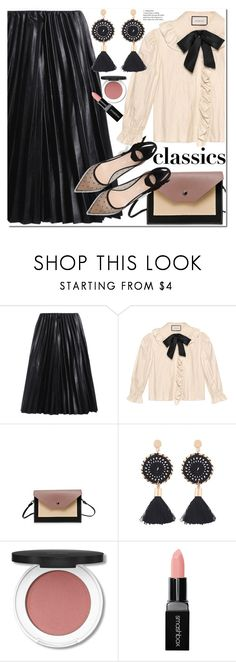 """Tried and True: Wardrobe Staples"" by duma-duma ❤ liked on Polyvore featuring Gucci, Smashbox and WardrobeStaples"
