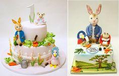 Beatrix Potter cakes by Lulu Cake Boutique