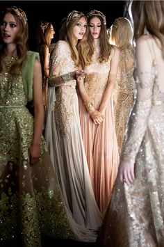 Five is Blue - archaeologicals:     ELIE SAAB Haute Couture...