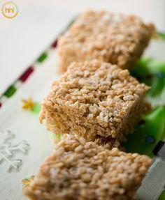 Vegan Rice Crispy Treats (Snowmen) - Day 3 Video of our 12 days of vegan xmas series! #vegan #sweetandsara #dessert
