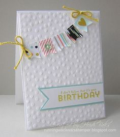 FM142 SAB Birthday & Twine  by hlw966 - Cards and Paper Crafts at Splitcoaststampers