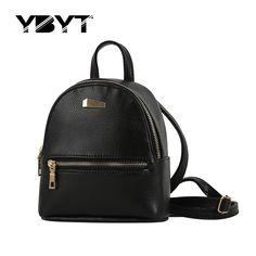 Ybyt marca 2017 nuovo piccolo zaino di modo di hotsale donne shopping borsa delle signore joker borsa da viaggio bookbag zaini scuola studente
