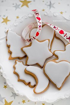 pierniczki Polish Recipes, Xmas Decorations, Christmas Cookies, Sugar, Cooking, Inspiration, Food, Cakes, Christmas Room Decorations