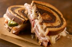 The Newben Reuben, try this I did and it was yummy, fresh ideal. Go to kraftrecipes.com for recipe