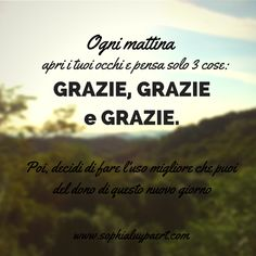 Gratitudine per ogni momento! :-) on.fb.me/1w13PUd