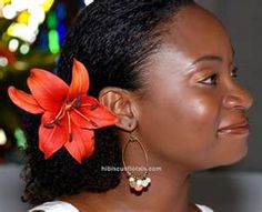 Image Search Results for natural hair with flowers